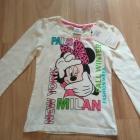 Nowy komplet bluzka z dlugim rękawem i getry Minni Mouse 92 98