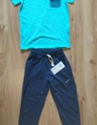 Nowy komplet bluzka i spodnie dresowe chłopięce 13