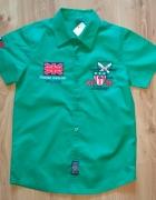 Nowa koszula chłopięca zielona rozm 164...