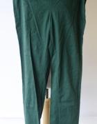 Spodnie Butelkowa Zieleń Tregginsy H&M M 38 Rurki Zielone...