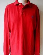 Koszula Polo Czerwona American Eagle M 38 Kołnierzyk...