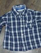Koszulki w kratkę dla chłopczyka 74...