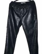 skórzane spodnie jak nowe 42