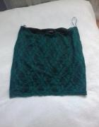 Spódniczka spódnica zielona koronka FISHBONE...