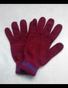 Rękawiczki bordo