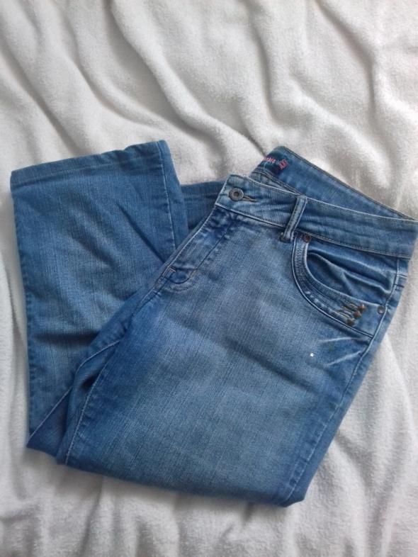 Spodenki Spodnie rybaczki jeansowe jeansy L