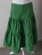 Zielona spódnica Reporter...