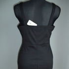 Sukienka mała czarna gorsetowa