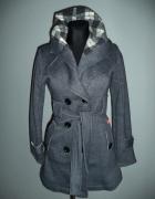 Płaszcz dresowy melanżowy
