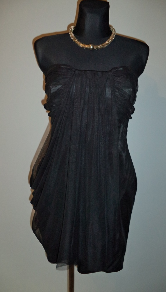 Suknie i sukienki Sukienka gorsetowa czarna