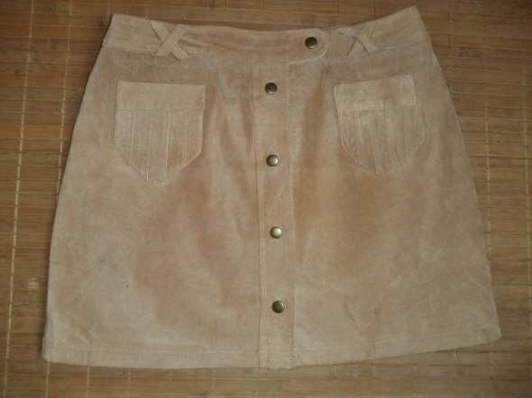 Spódnice Zamszowa spódnica