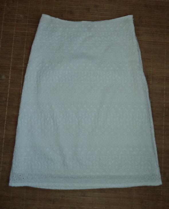 Spódnice Biała spódnica haft boho