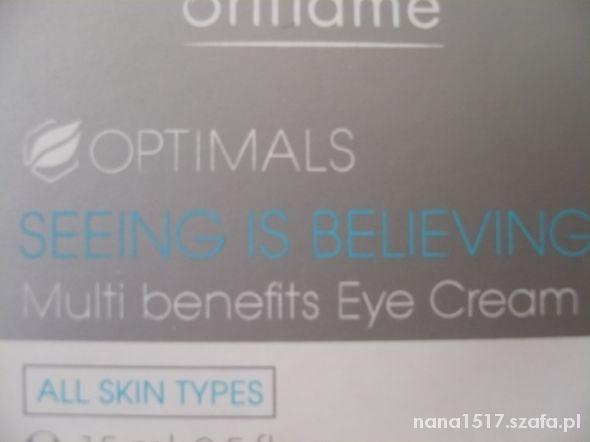 Krem do pielęgnacji okolic oczu Optimals