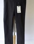 Spodnie NOWE Czarne Tregginsy Bik Bok XS 34 Rurki...