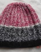 czapka na zimę cieplutka z naturalnej wełny