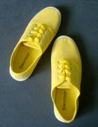 NOWE Żółte Trampki 37