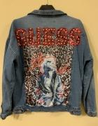 guess logowana kurtka jeansowa premium nowa...