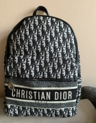 Dior logowany plecak najnowszy model monogram logowany A4