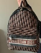 Dior logowany plecak premium najnowszy model tego sezonu monogramy