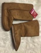 Nowe ocieplane buty damskie 40