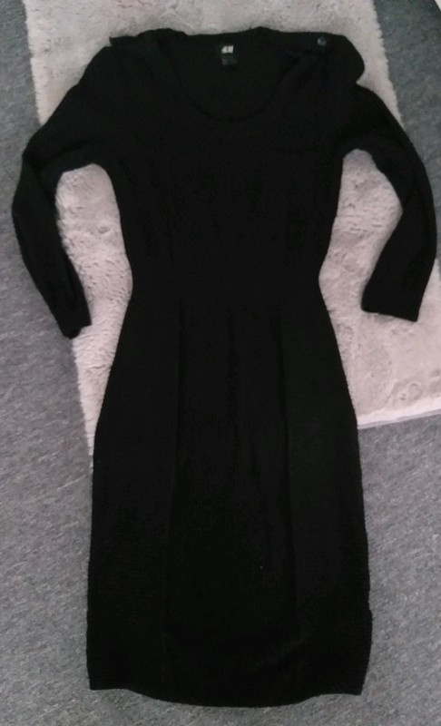 Sukienka sweterkowa H&M S