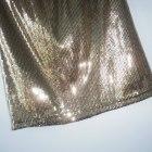 Forever 21 cekinowa spódniczka złota cekiny