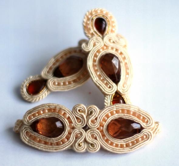 Sutasz bransoletka i kolczyki ekskluzywny zestaw biżuterii