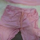 Zestaw bluzy i spodni pudrowy róż rozmiar SM