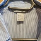 biało niebieska bluzka