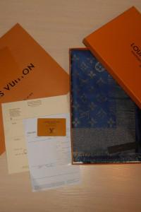 Louis Vuitton Chusta Szalik Szal apaszka damski kasmirowa Franc...