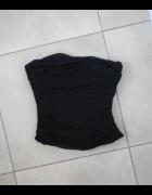 Coast jedwabny czarny gorset jedwab silk