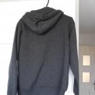 HM szara bluza z kapturem klasyka minimalizm kangurka