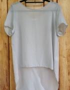 Koszula tunika mgiełka tren rozcięcie rozmiar L 40 szyfonowa pepco