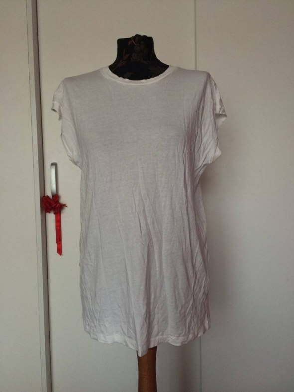 Bik bok biała koszulka top bluza t shirt bluzka...