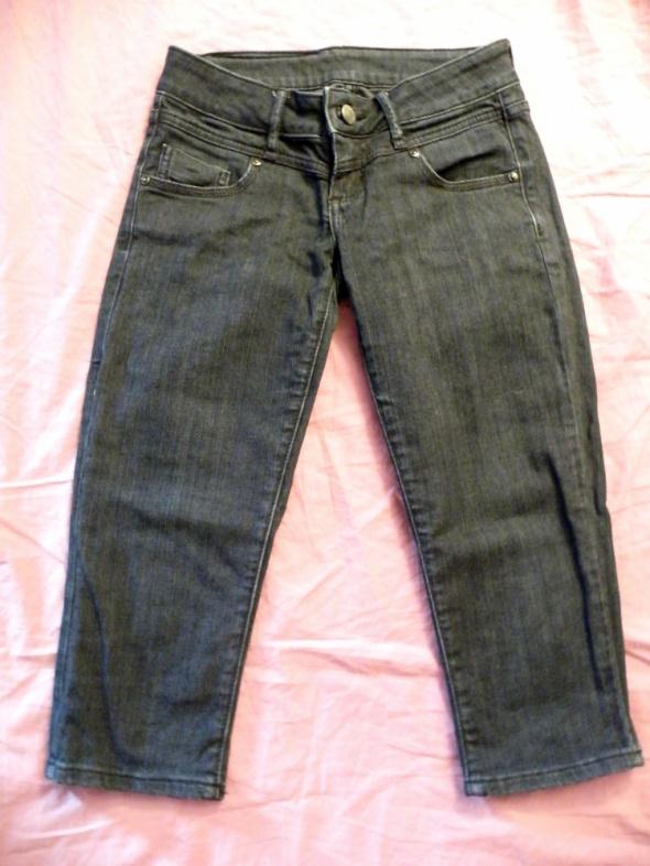 Spodenki Spodnie 34 czarne dżinsowe