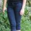 Spodnie 34 czarne dżinsowe