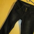 Jeansy nowe wysoki stan dzwony