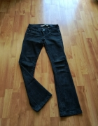 czarne jeansy S ONLY...