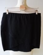 Spódniczka Kopertowa Czarna Gina Tricot XL 42 Mini...