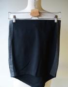 Spódniczka Czarna Lampasy Gina Tricot M 38 Mini...