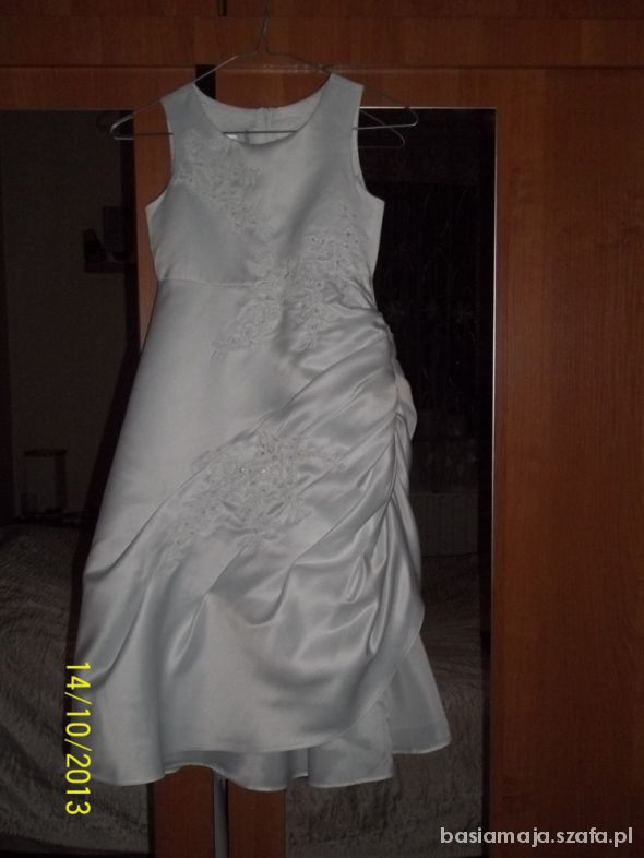 Śliczna sukienka 128...