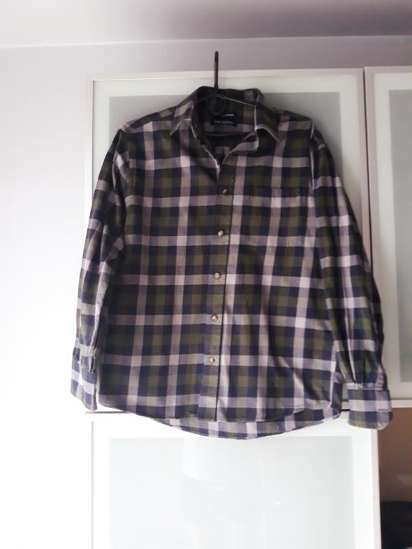 koszula w kratę S