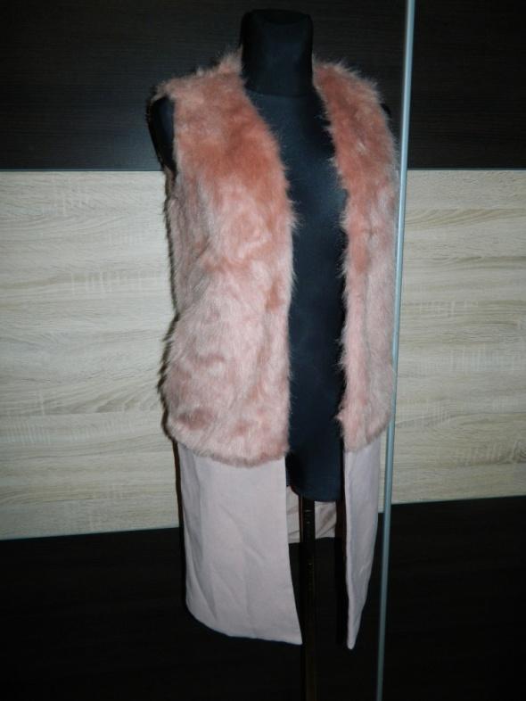 Missguided kamizelka płaszczyk futerko roz 34 36