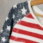 Bluza flaga amerykańska cubus oversize m