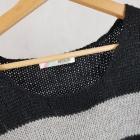 Długi ciepły sweter cropp m