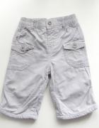 Szare spodnie od 3 do 6 miesięcy