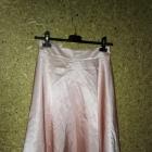 Mohito Jasnoróżowa rozkloszowana spódnica midi 34