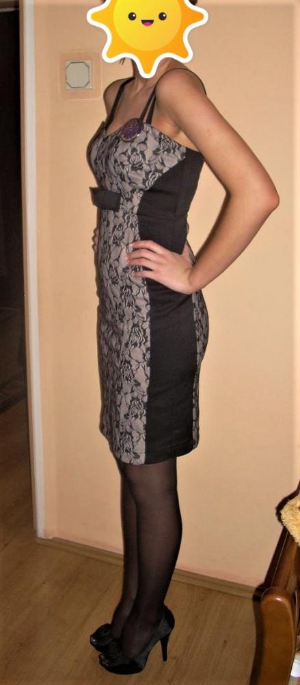 Sukienka z koronką Orsay 34 XS