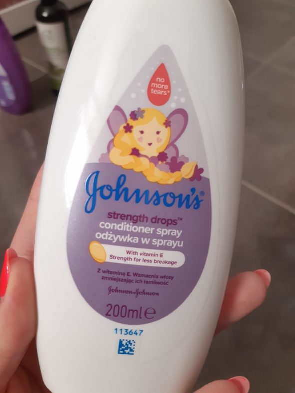 Johnsons Strength Drops Conditioner Spray Odżywka do włosów w sprayu