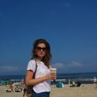 idę na plażę